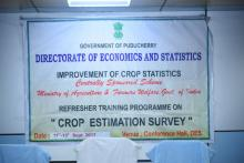 image of Refresher Training programme on Crop
